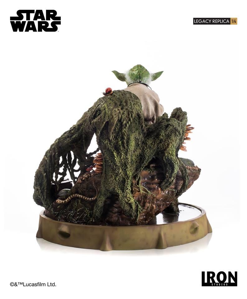 [Iron Studios] Star Wars Episode V- Yoda Legacy Replica 1/4  41776410