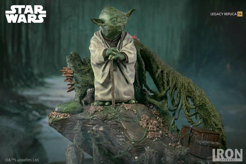 [Iron Studios] Star Wars Episode V- Yoda Legacy Replica 1/4  41784410