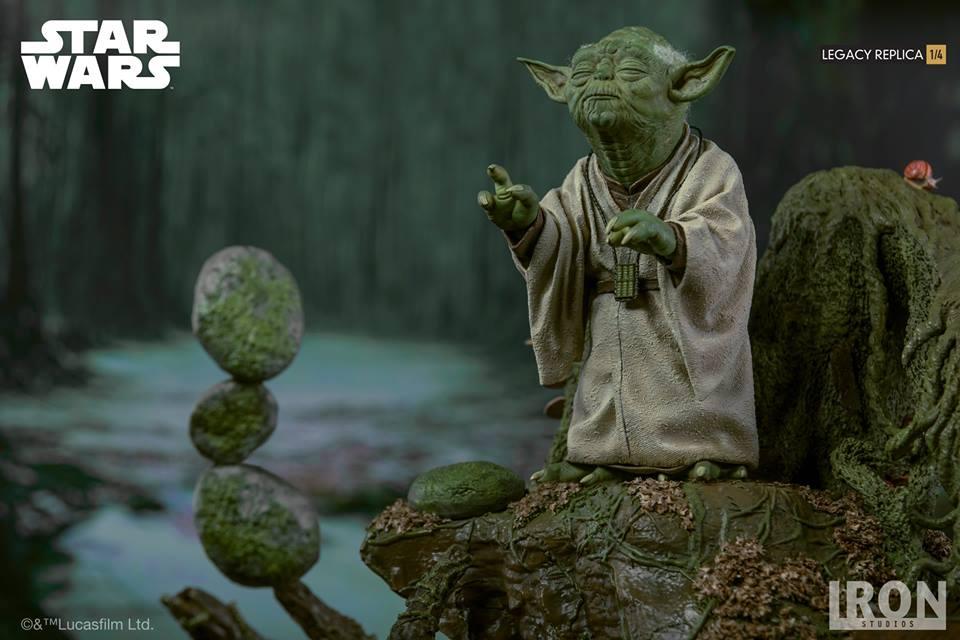 [Iron Studios] Star Wars Episode V- Yoda Legacy Replica 1/4  41801811