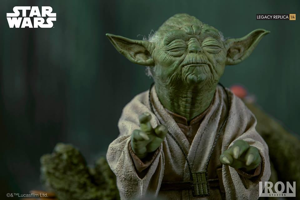 [Iron Studios] Star Wars Episode V- Yoda Legacy Replica 1/4  41811710