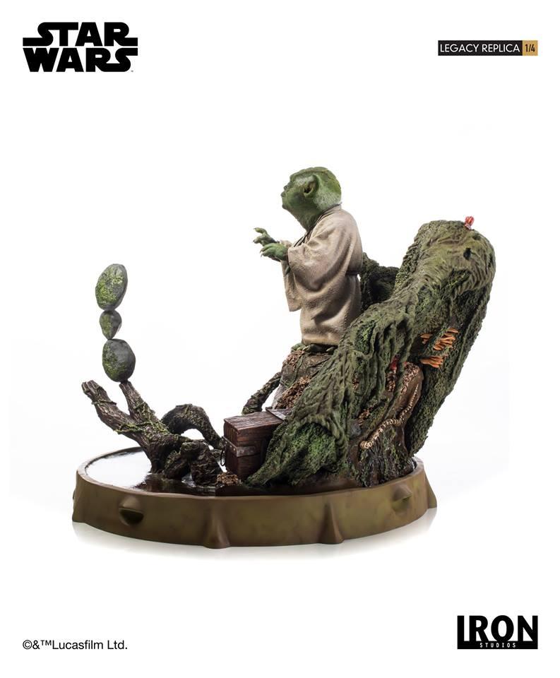 [Iron Studios] Star Wars Episode V- Yoda Legacy Replica 1/4  41824610