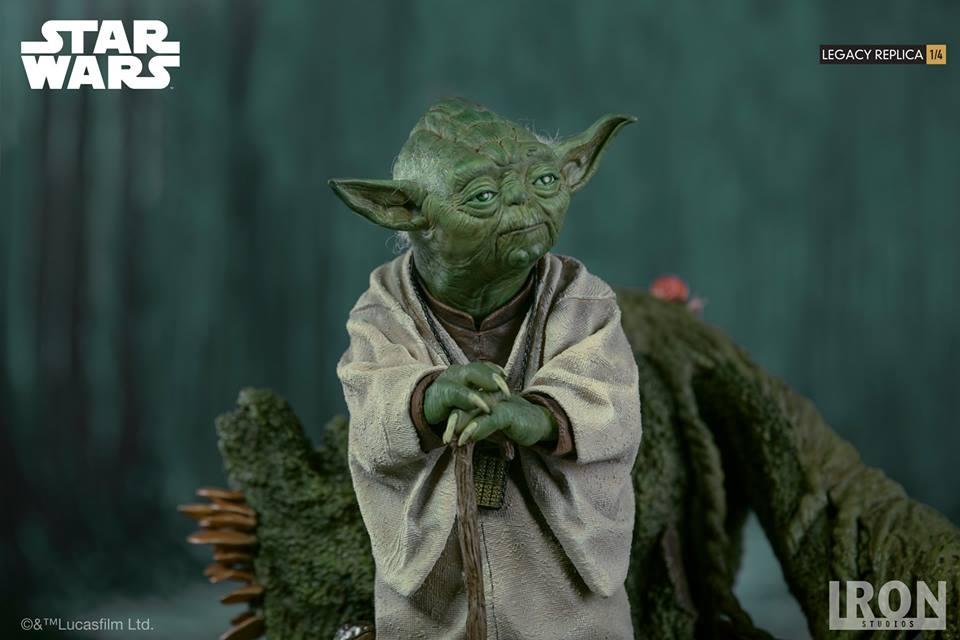 [Iron Studios] Star Wars Episode V- Yoda Legacy Replica 1/4  41827810