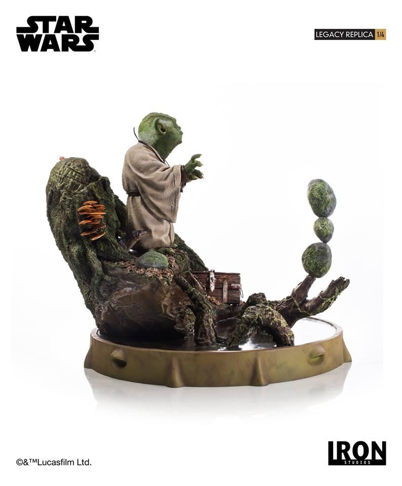 [Iron Studios] Star Wars Episode V- Yoda Legacy Replica 1/4  41900310