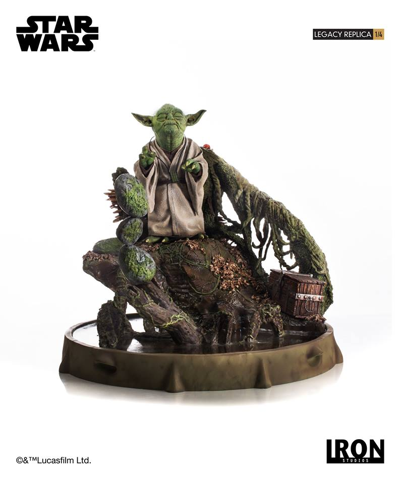 [Iron Studios] Star Wars Episode V- Yoda Legacy Replica 1/4  41900410