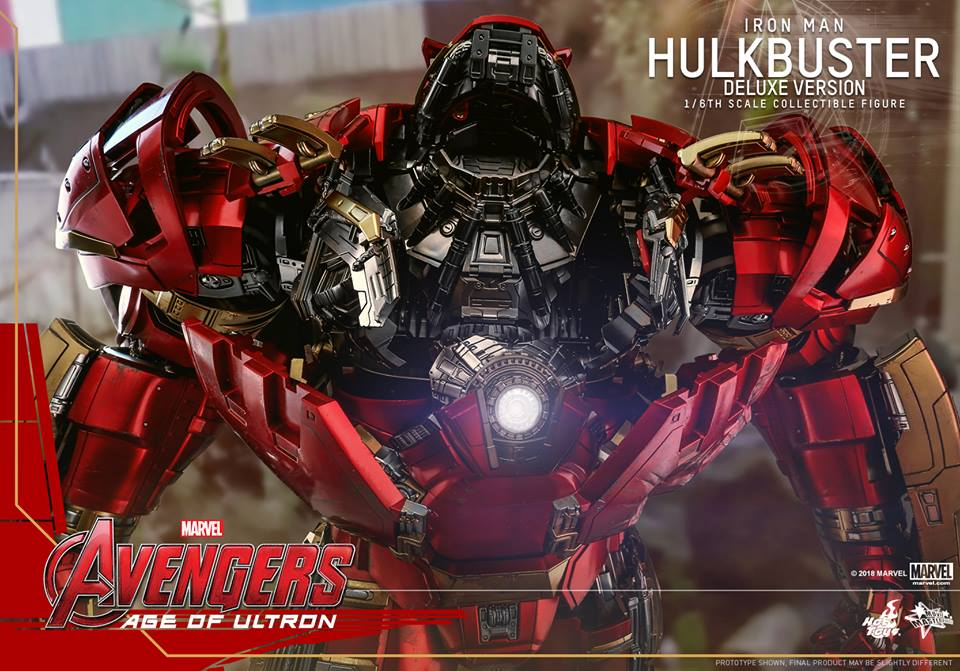 [Hot Toys]- Avengers: Age of Ultron- Hulkbuster deluxe version 1/6 42393310