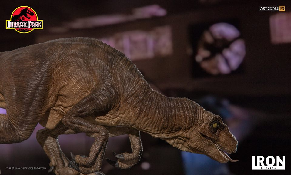 [Iron Studios] - Jurassic Park- Crouching Velociraptor  1/10 42663212
