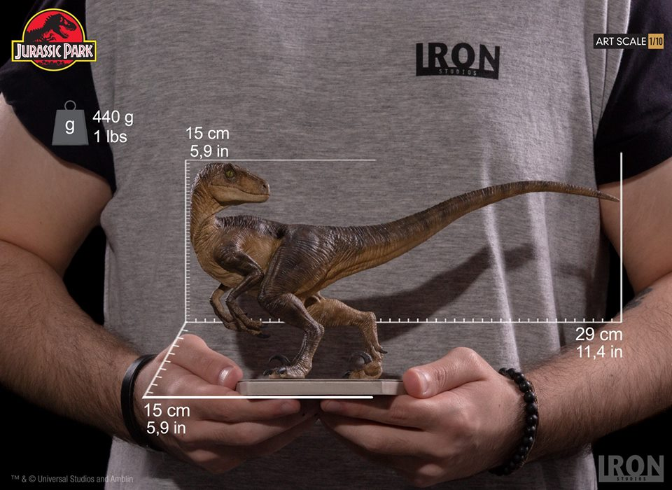 [Iron Studios] - Jurassic Park- Velociraptor 1/10 42666010
