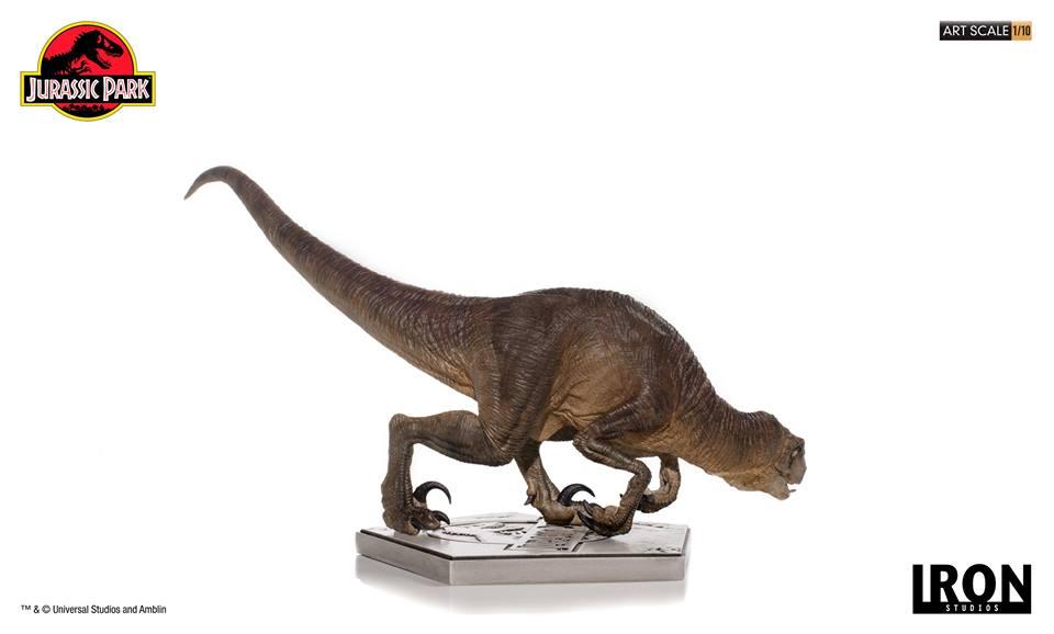 [Iron Studios] - Jurassic Park- Crouching Velociraptor  1/10 42666110