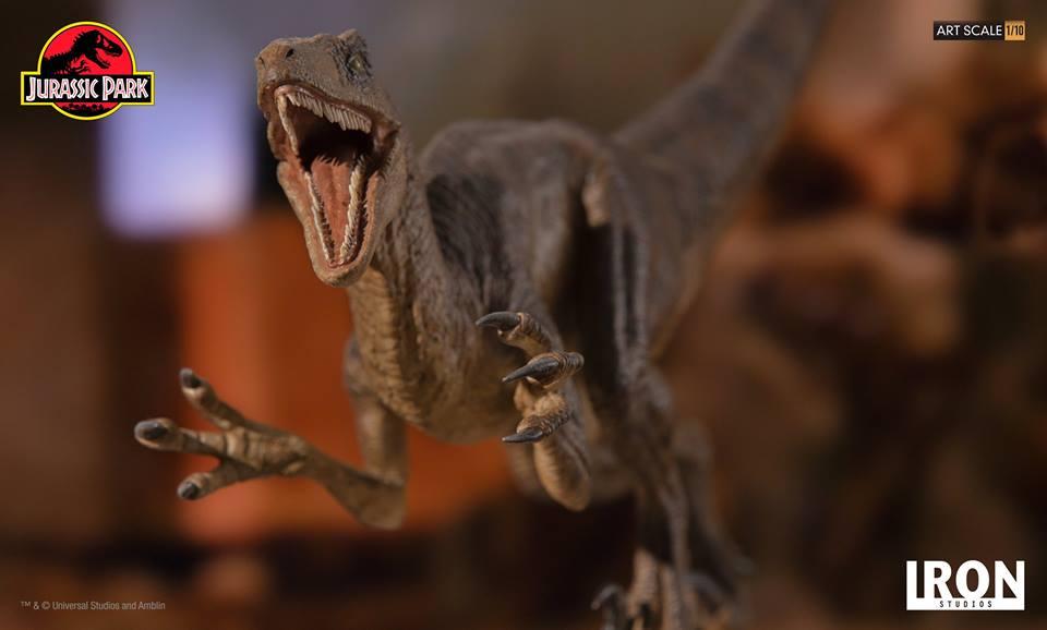 [Iron Studios] - Jurassic Park- Velociraptor Attack 1/10 42672110