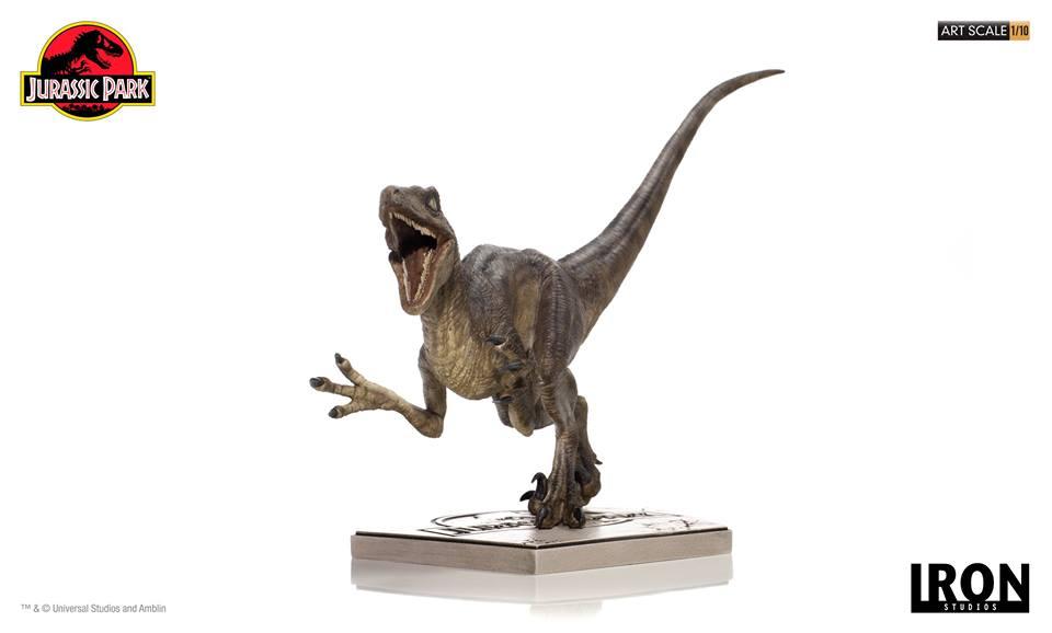 [Iron Studios] - Jurassic Park- Velociraptor Attack 1/10 42673210