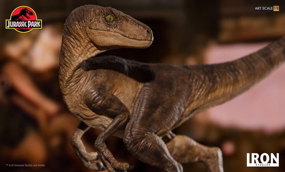 [Iron Studios] - Jurassic Park- Velociraptor 1/10 42675010