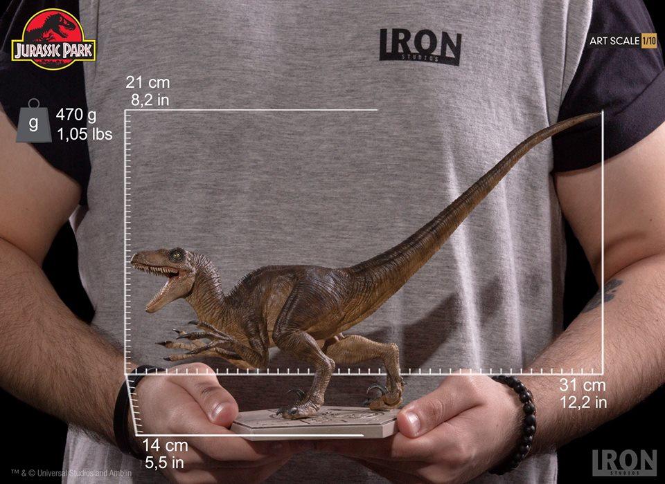[Iron Studios] - Jurassic Park- Velociraptor Attack 1/10 42683010