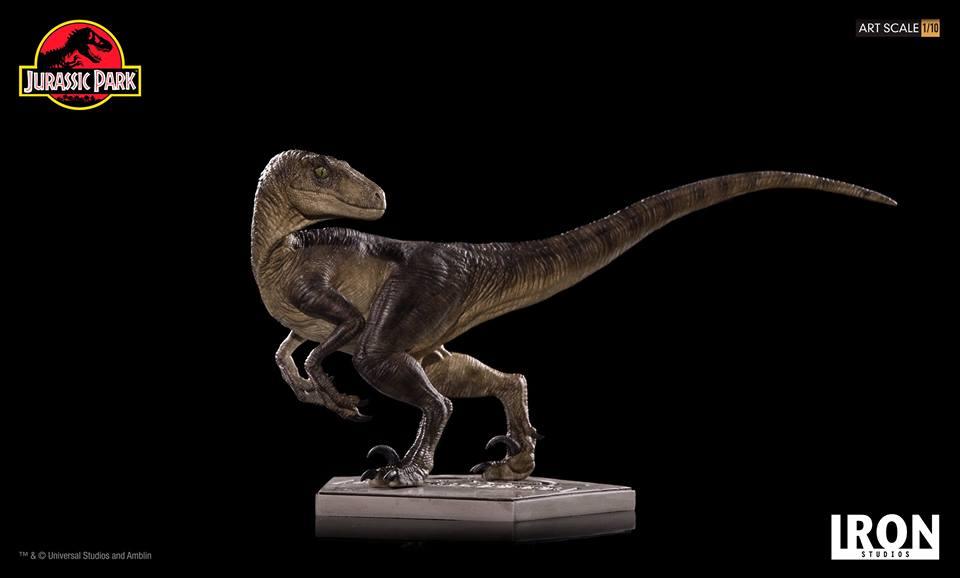 [Iron Studios] - Jurassic Park- Velociraptor 1/10 42696510