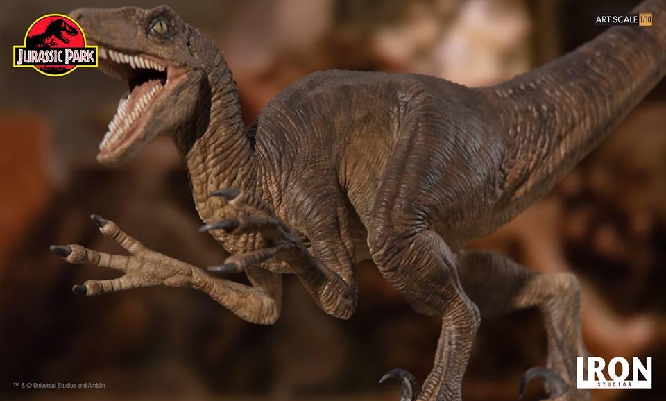 [Iron Studios] - Jurassic Park- Velociraptor Attack 1/10 42698710