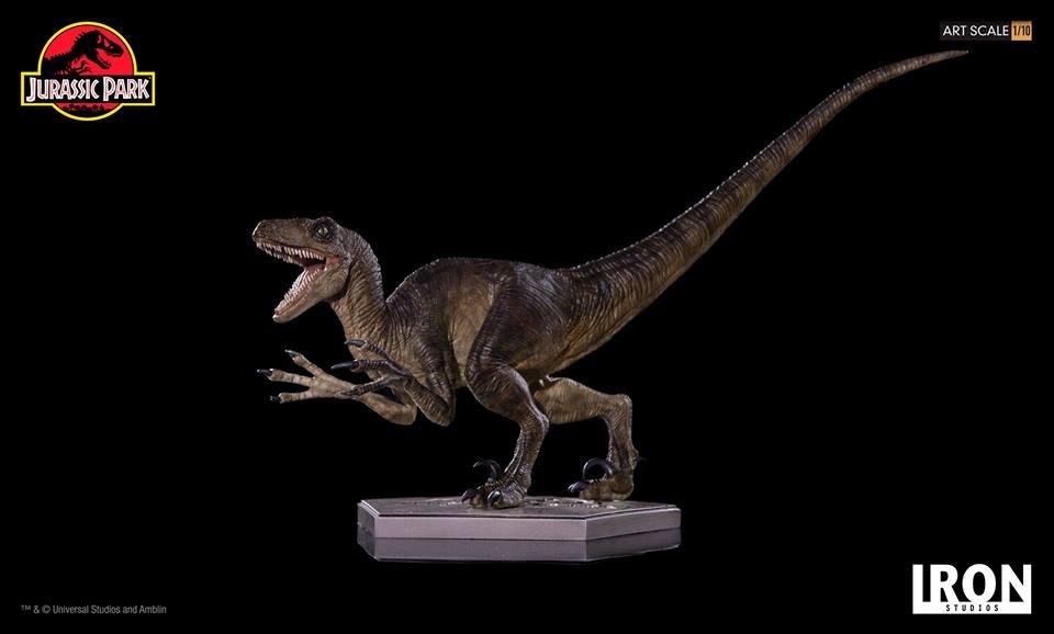 [Iron Studios] - Jurassic Park- Velociraptor Attack 1/10 42698711