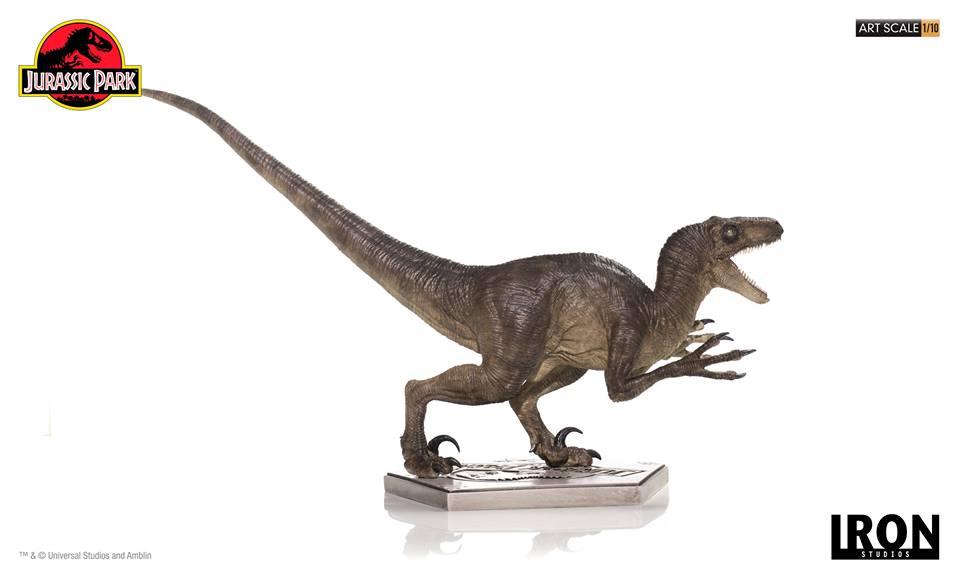 [Iron Studios] - Jurassic Park- Velociraptor Attack 1/10 42699610