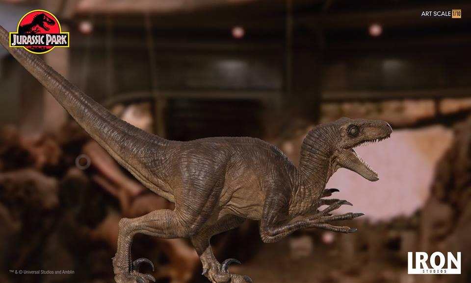 [Iron Studios] - Jurassic Park- Velociraptor Attack 1/10 42705610