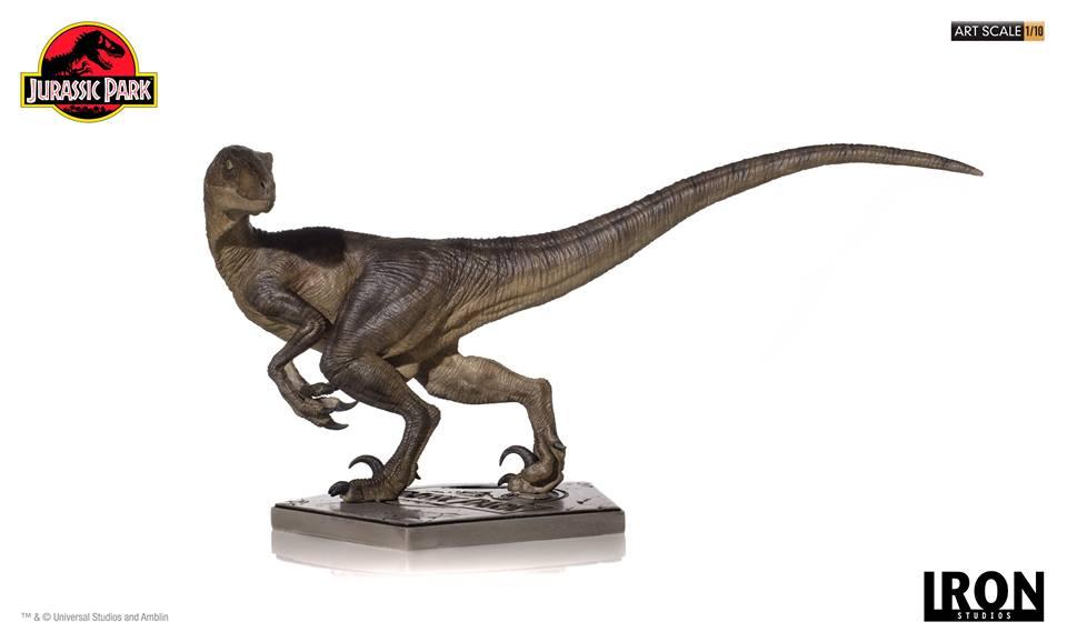 [Iron Studios] - Jurassic Park- Velociraptor 1/10 42711110