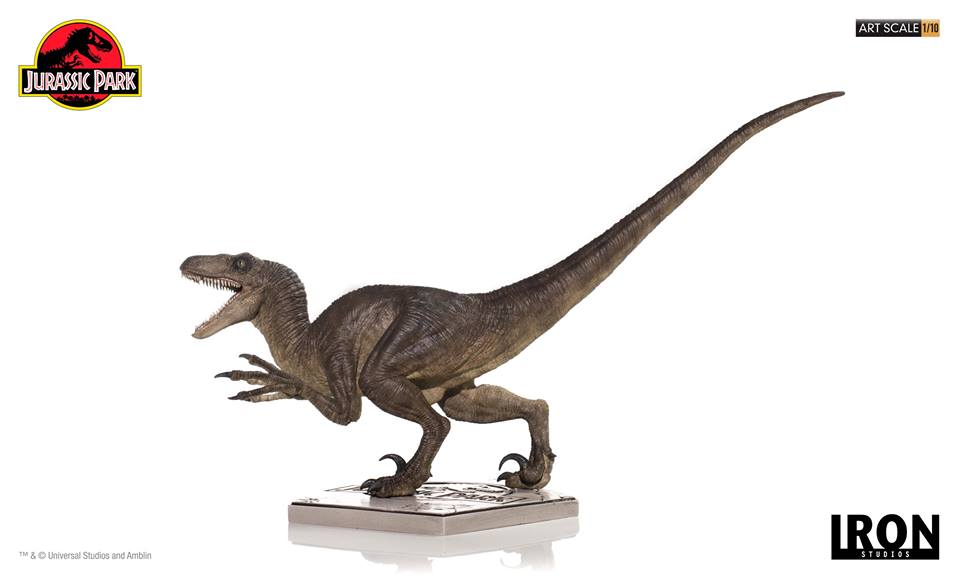 [Iron Studios] - Jurassic Park- Velociraptor Attack 1/10 42719811