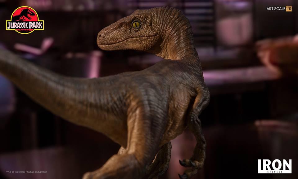 [Iron Studios] - Jurassic Park- Velociraptor 1/10 42723610