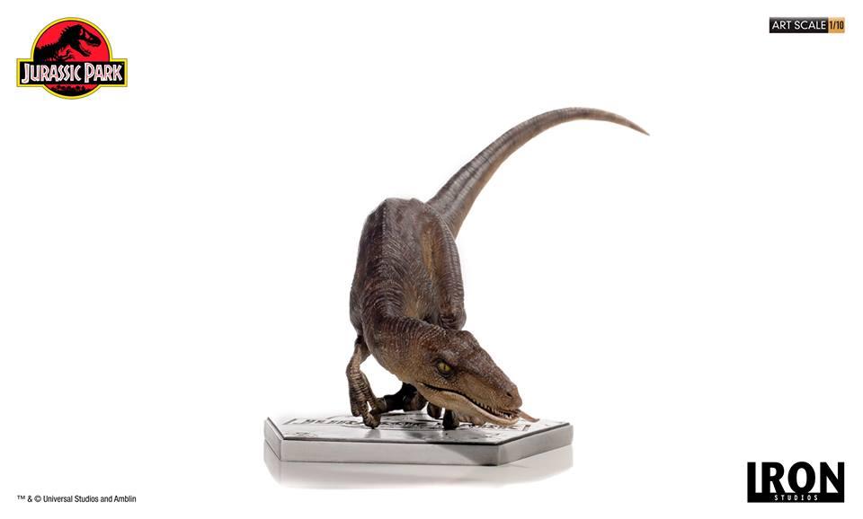 [Iron Studios] - Jurassic Park- Crouching Velociraptor  1/10 42727110