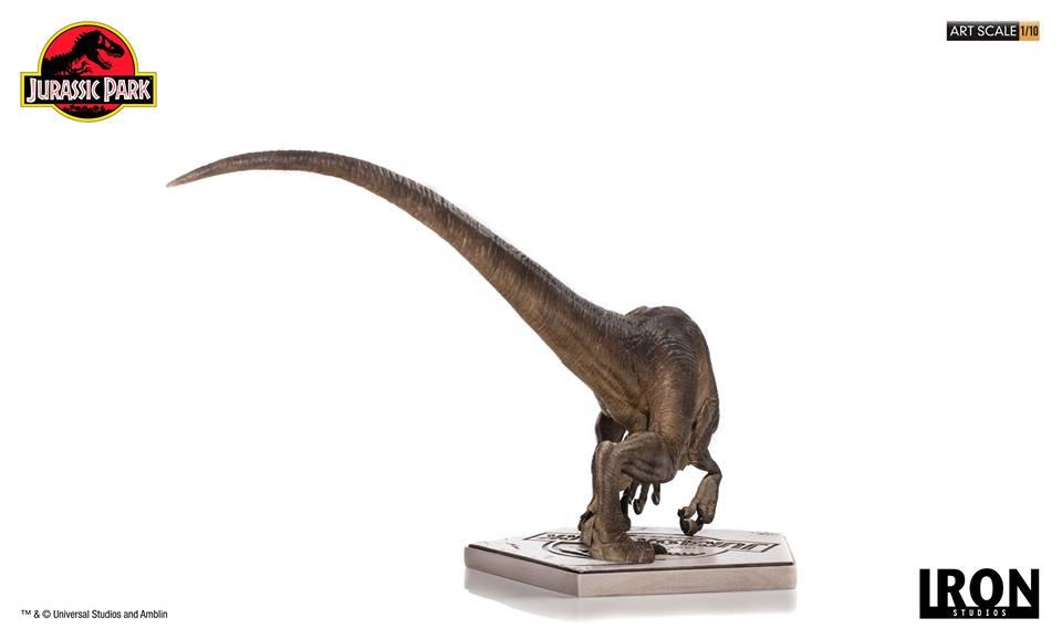 [Iron Studios] - Jurassic Park- Crouching Velociraptor  1/10 42734810