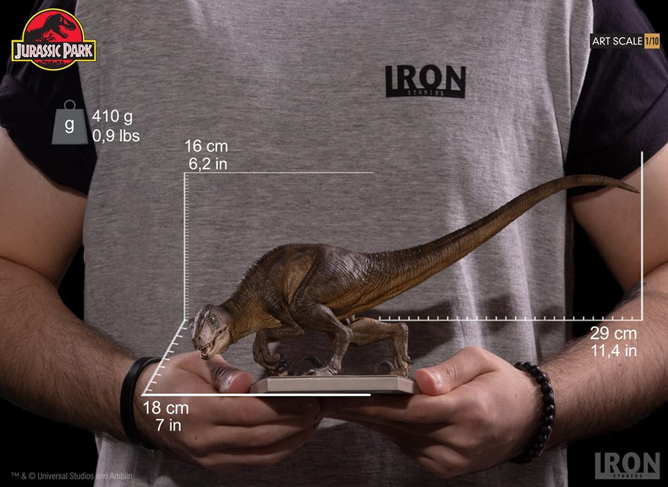 [Iron Studios] - Jurassic Park- Crouching Velociraptor  1/10 42738210