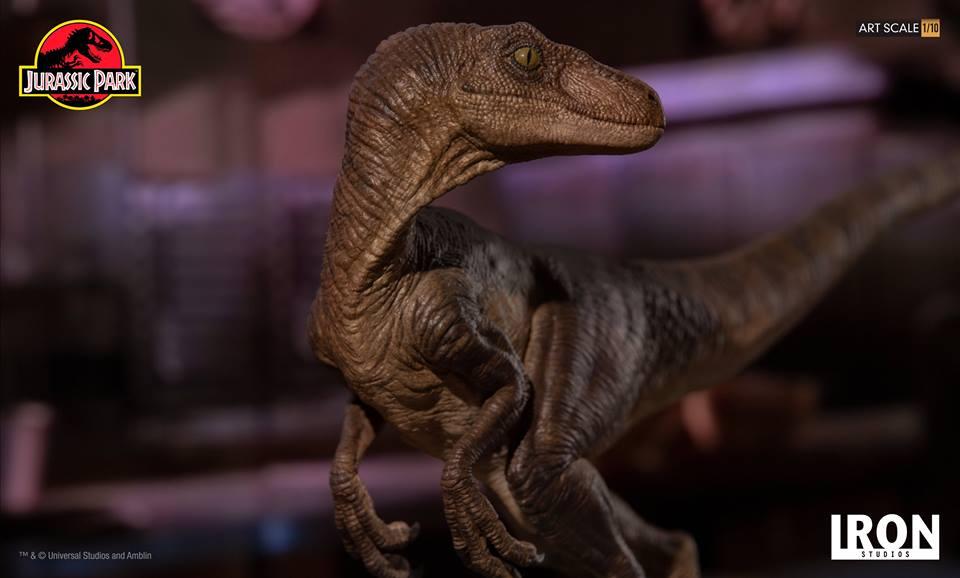 [Iron Studios] - Jurassic Park- Velociraptor 1/10 42769010