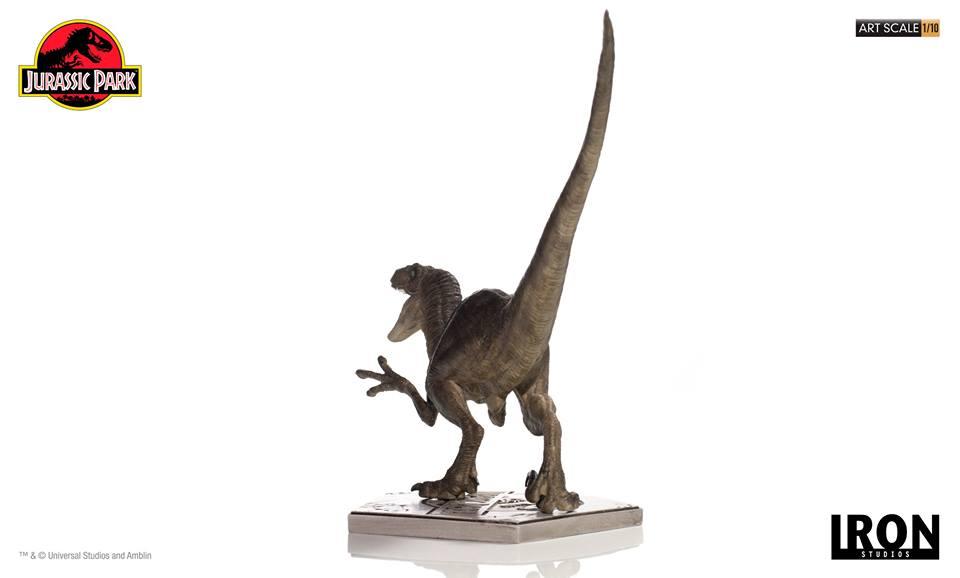 [Iron Studios] - Jurassic Park- Velociraptor Attack 1/10 42782610