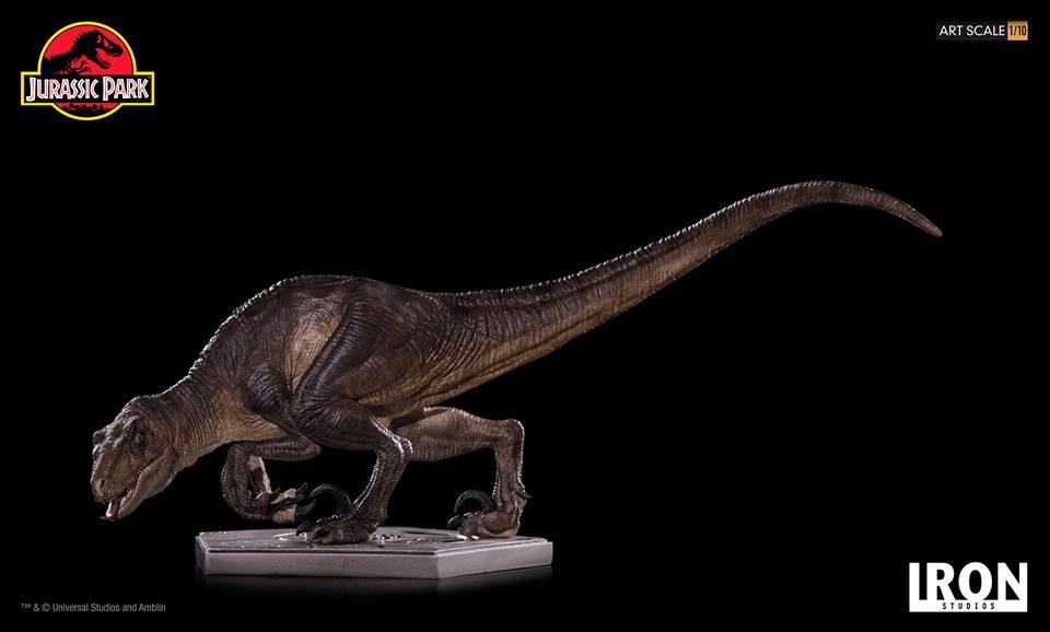 [Iron Studios] - Jurassic Park- Crouching Velociraptor  1/10 42808410