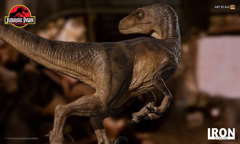 [Iron Studios] - Jurassic Park- Velociraptor 1/10 42826010
