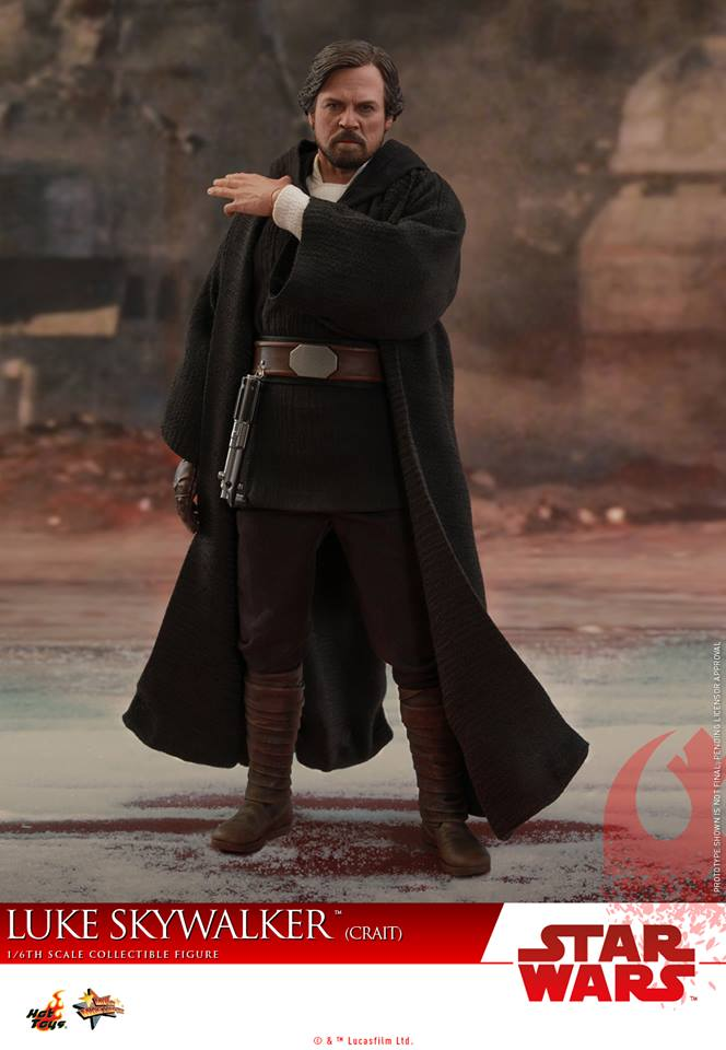 [Hot Toys] - Star Wars VIII- Luke Skywalker (crait) 43051410