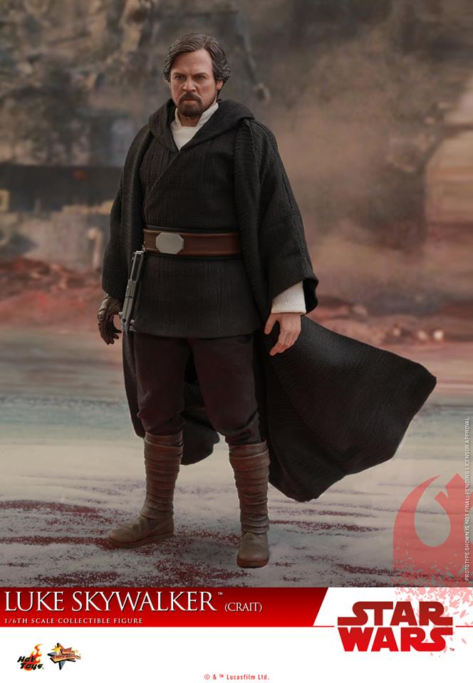 [Hot Toys] - Star Wars VIII- Luke Skywalker (crait) 43056110