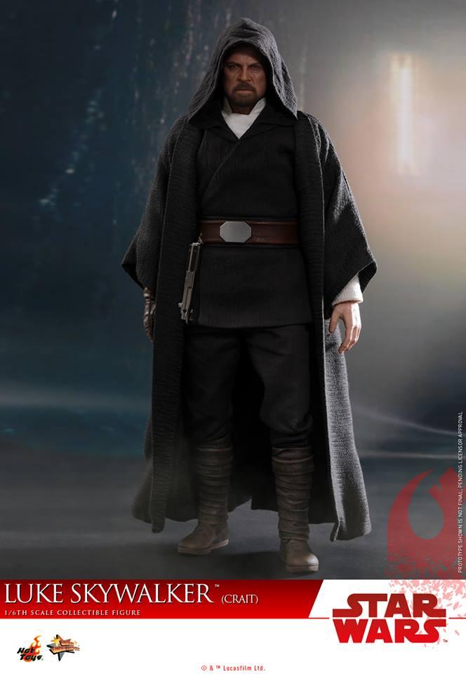 [Hot Toys] - Star Wars VIII- Luke Skywalker (crait) 43058710