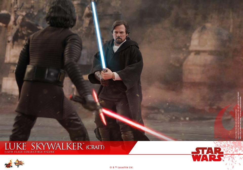 [Hot Toys] - Star Wars VIII- Luke Skywalker (crait) 43082410