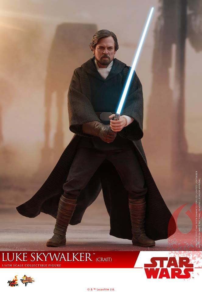 [Hot Toys] - Star Wars VIII- Luke Skywalker (crait) 43083410