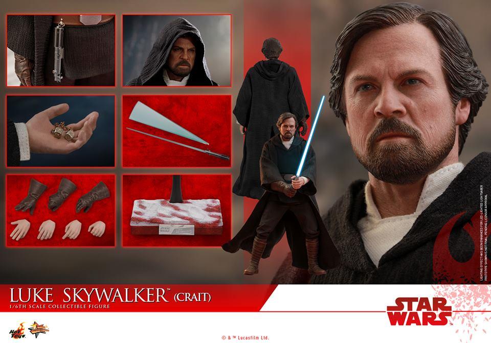 [Hot Toys] - Star Wars VIII- Luke Skywalker (crait) 43083411