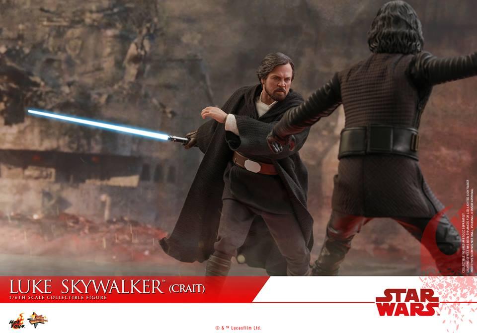 [Hot Toys] - Star Wars VIII- Luke Skywalker (crait) 43124910