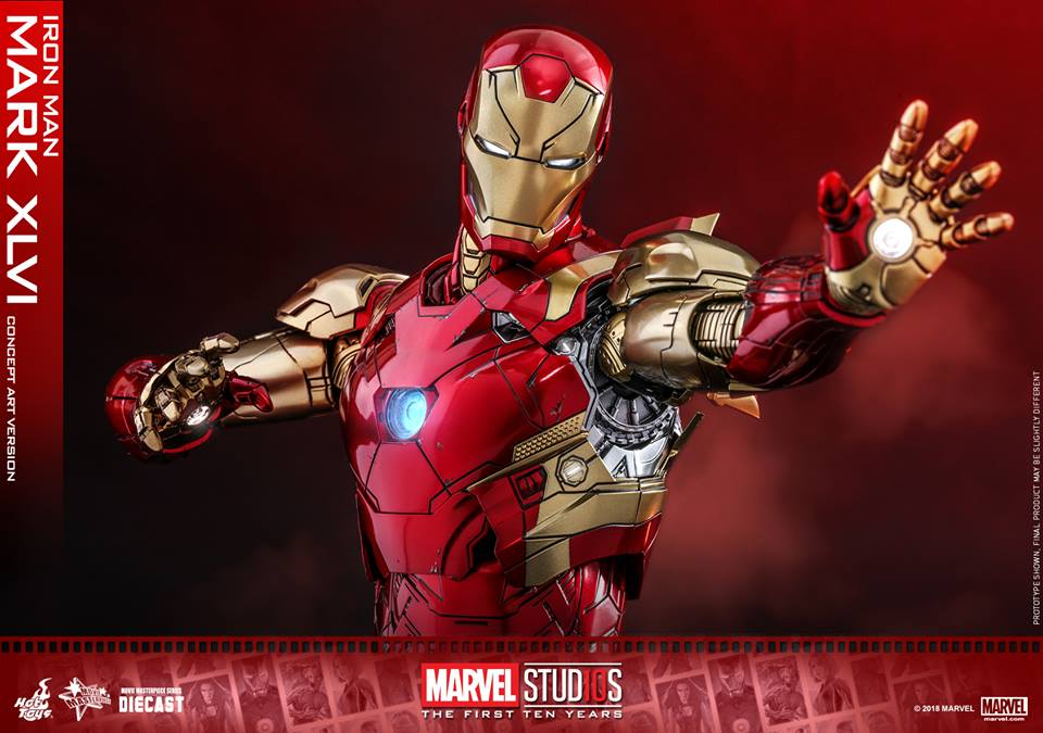 [Hot Toys]- Marvel Studios: The first 10 years- Mark XLVI (concept version) 43141210