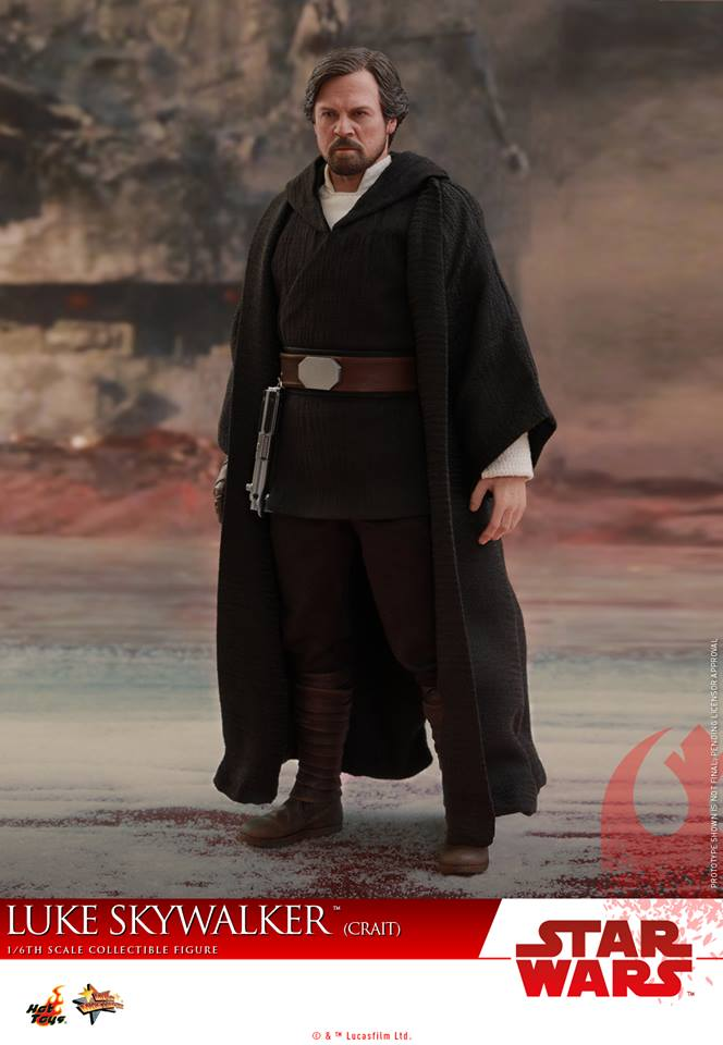 [Hot Toys] - Star Wars VIII- Luke Skywalker (crait) 43238510