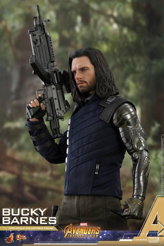 [Hot Toys] -Avengers: Infinity War - Winter Soldier 1/6 43694610