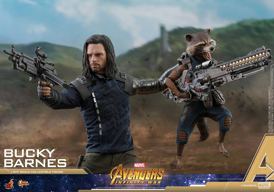 [Hot Toys] -Avengers: Infinity War - Winter Soldier 1/6 43705610