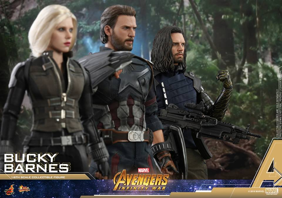 [Hot Toys] -Avengers: Infinity War - Winter Soldier 1/6 43715610