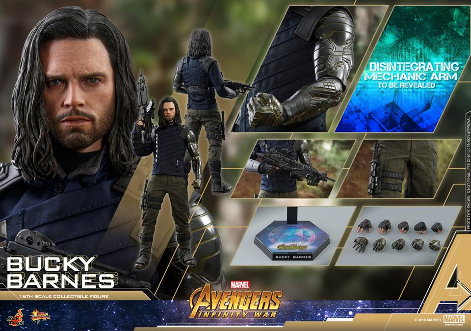 [Hot Toys] -Avengers: Infinity War - Winter Soldier 1/6 43724210
