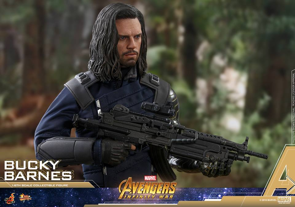 [Hot Toys] -Avengers: Infinity War - Winter Soldier 1/6 43731610