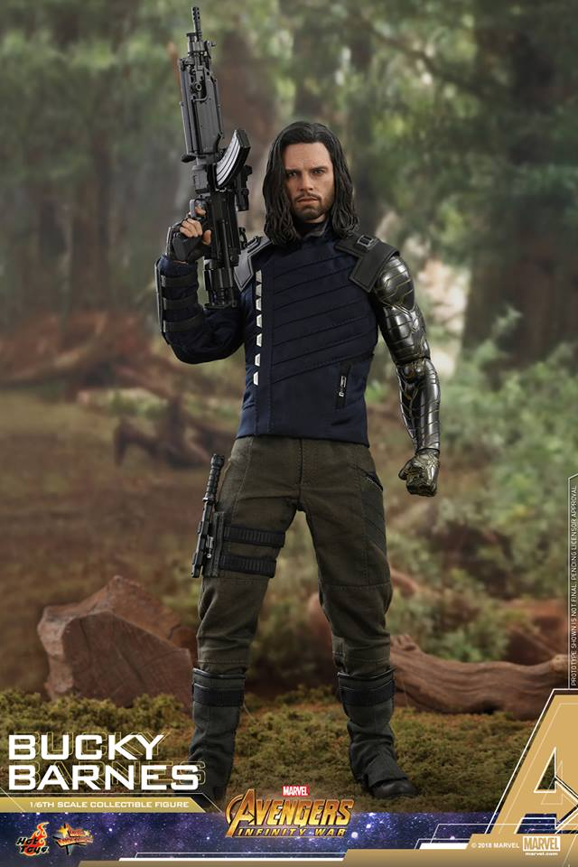 [Hot Toys] -Avengers: Infinity War - Winter Soldier 1/6 43734110