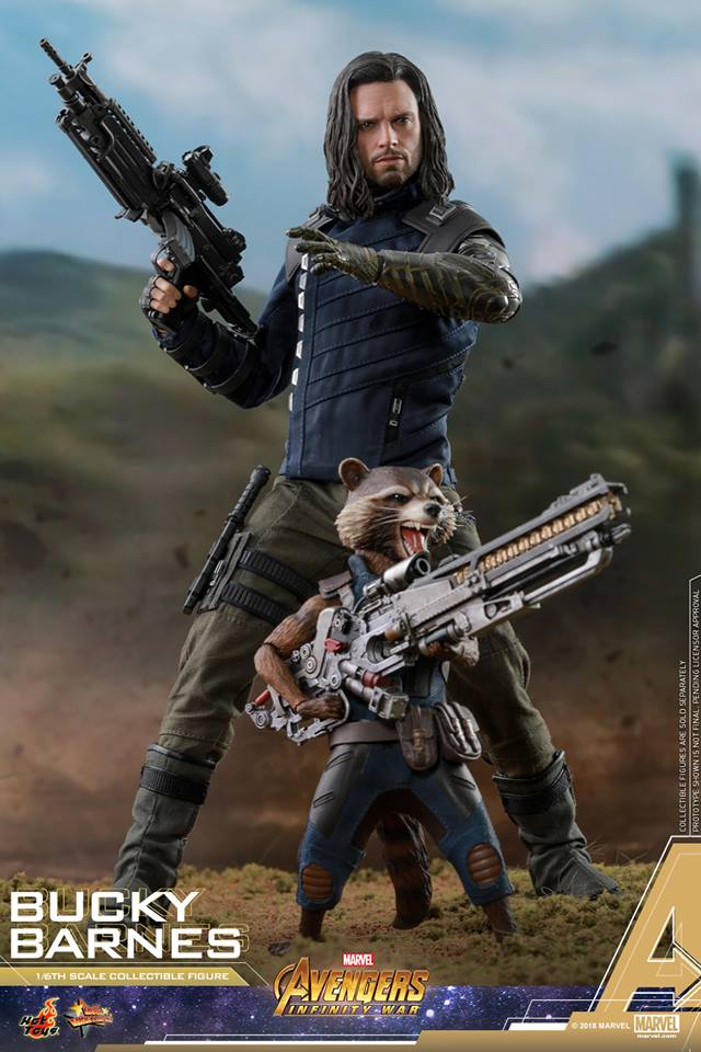 [Hot Toys] -Avengers: Infinity War - Winter Soldier 1/6 43739010