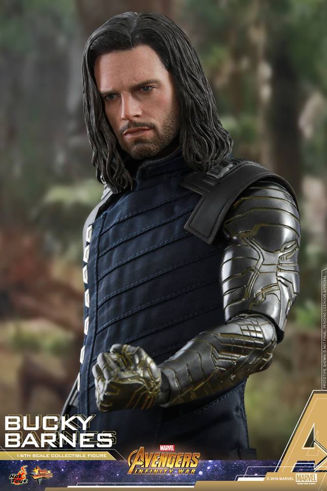 [Hot Toys] -Avengers: Infinity War - Winter Soldier 1/6 43765010