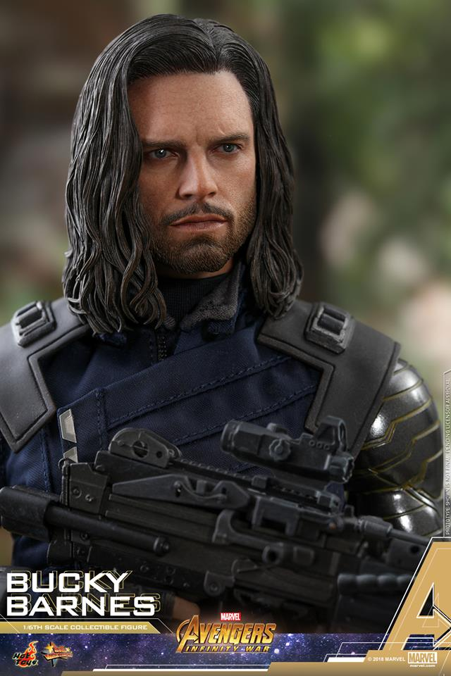 [Hot Toys] -Avengers: Infinity War - Winter Soldier 1/6 43828010