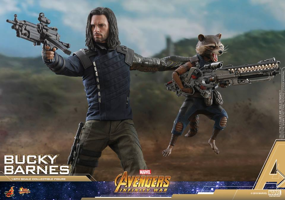 [Hot Toys] -Avengers: Infinity War - Winter Soldier 1/6 43879110